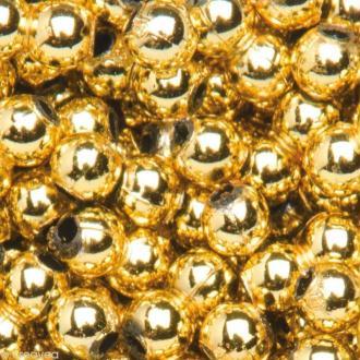Perles de décoration Or 6 mm - env 650 pcs