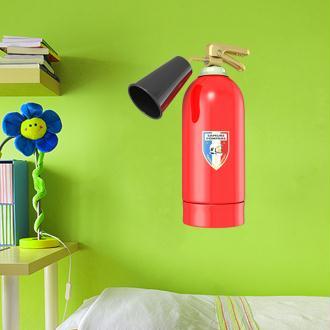 Stickers Extincteur pompier 1 - 10x15 cm