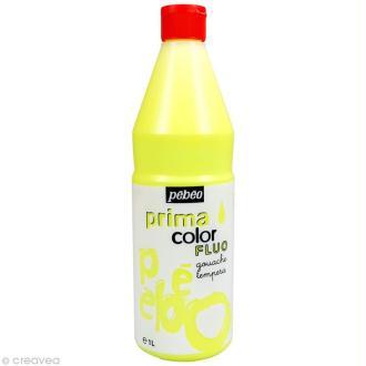 Gouache Primacolor 1L fluo - Jaune