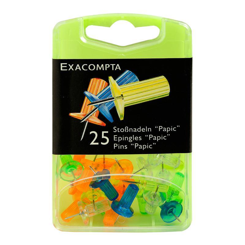 Epingles papic couleurs assorties translucides for Articles de cuisine ares