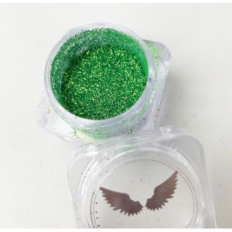 Bio Glitter Vert paillettes cosmétique biodégradables