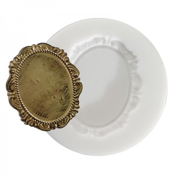 Mini moule silicone pour pâte polymère, fimo CAMEE SIMPLE DTM 284425 - Photo n°1