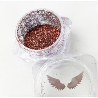 Bio Glitter Mocha paillettes cosmétique biodégradables