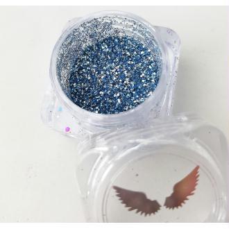 Bio Glitter Mix Galactic paillettes cosmétique biodégradables