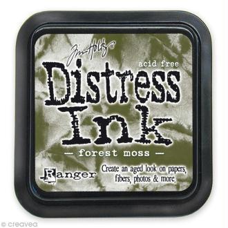 Encreur Distress Ink - Encre Vert mousse forestière