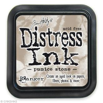 Encreur Distress Ink - Encre Gris Ponce (Pumice Stone)