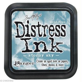 Encreur Distress Ink - Encre Bleu nuageux
