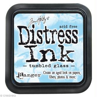 Encreur Distress Ink - Encre Bleu Glacé