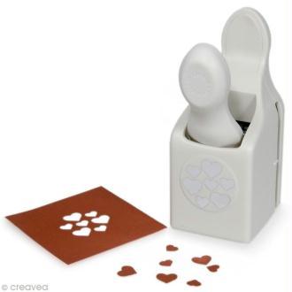 Perforatrice Martha Stewart - Classique Confettis en coeur - 3,2 cm