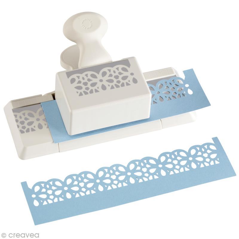 perforatrice martha stewart frise marguerites dentel es. Black Bedroom Furniture Sets. Home Design Ideas
