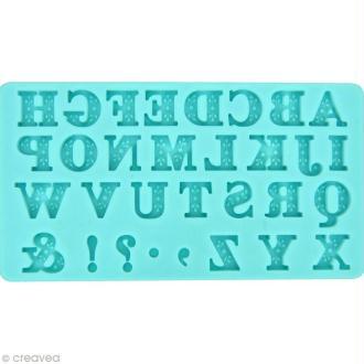 Moule silicone Martha Stewart - Alphabet