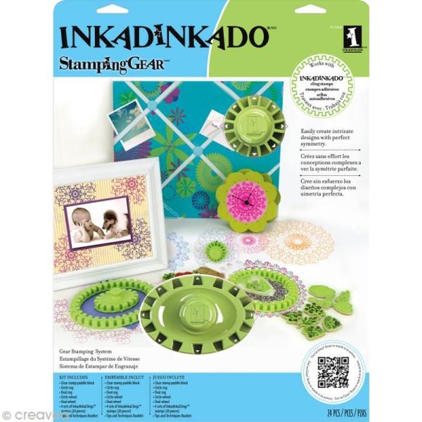 Inkadinkado Stamping Gear - Set Deluxe - Photo n°1