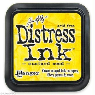 Encreur Distress Ink - Encre Jaune Moutarde