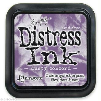 Encreur Distress Ink - Encre Violet poussiéreux