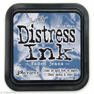 Encreur Distress Ink - Encre Bleu délavé