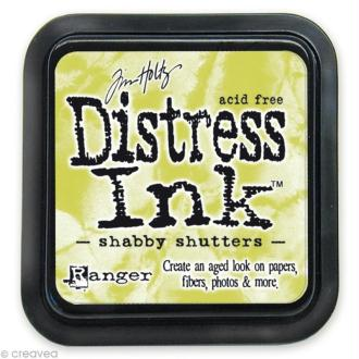 Encreur Distress Ink - Encre Vert Jaune
