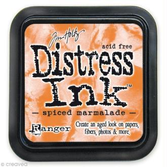 Encreur Distress Ink - Encre Orange Marmelade