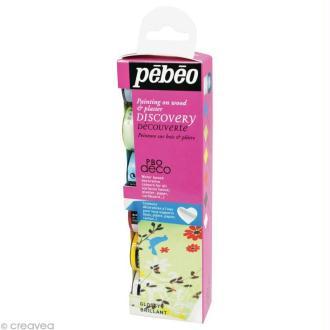 Kit découverte Pébéo - P.BO déco brillant 6 x 20 ml