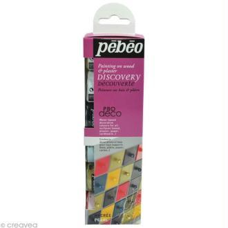 Kit découverte Pébéo - P.BO Déco nacré 6 x 20 ml