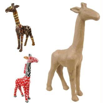 Girafe en papier maché 56 cm