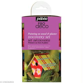 Kit découverte Pébéo - P.BO Déco brillant 12 x 20 ml
