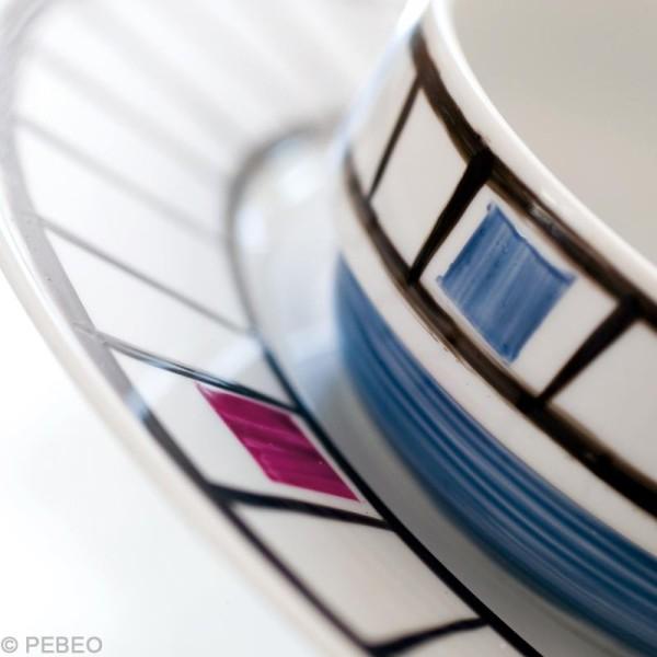 Coffret atelier Pébéo - Peinture porcelaine P150 - Photo n°5
