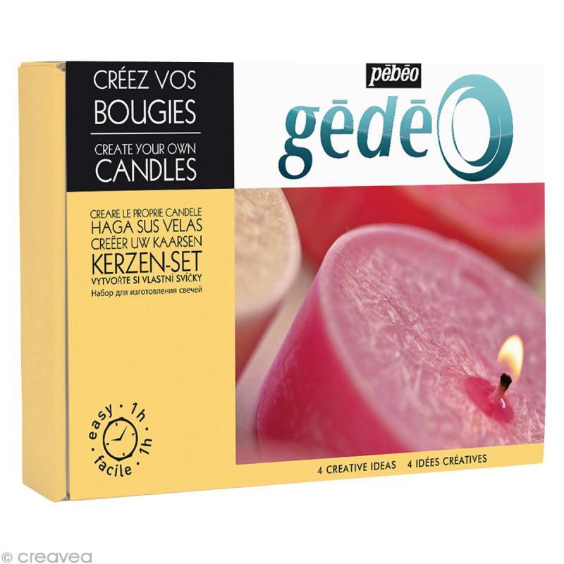 kit cr ation bougie g d o kit bougies creavea. Black Bedroom Furniture Sets. Home Design Ideas