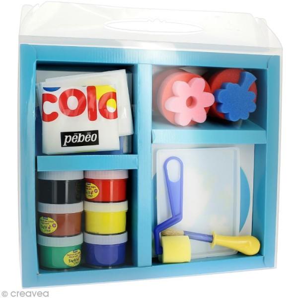Kit peinture gouache aux doigts Tactil Color - Photo n°2