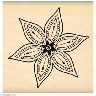 Tampon Nature - Petite fleur star