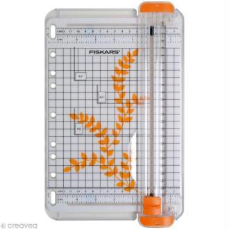 Massicot Fiskars A5 - Portable SureCut 22 cm