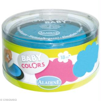 Encreur Stampo baby Turquoise / rose x 2
