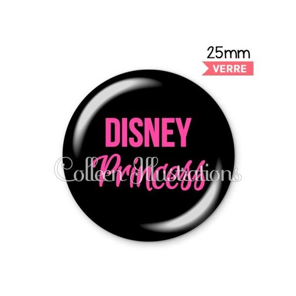 Cabochon en verre Disney princesse - Photo n°1