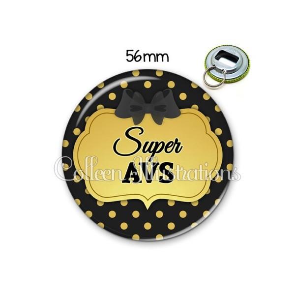 Décapsuleur 56mm Super AVS Porte-clés Porte-clefs - Photo n°1