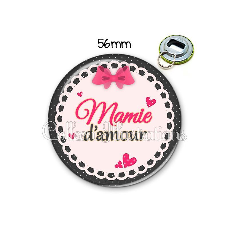 D capsuleur 56mm mamie d 39 amour porte cl s porte clefs for Amour de cuisine de soulef