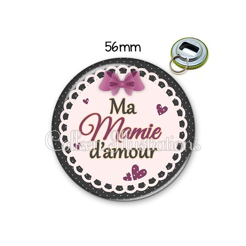 D capsuleur 56mm mamie d 39 amour porte cl s porte clefs for Amour de cuisine arabe