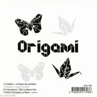 Fiche modèle origami x 10 + lexique