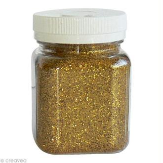 Pot poudre de paillettes - Or - 115 gr