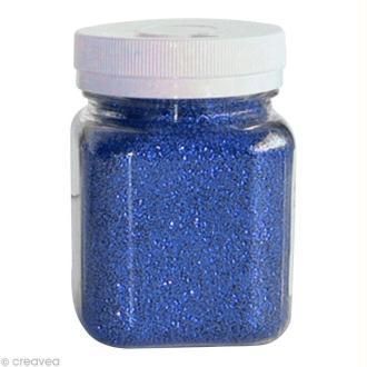 Pot poudre de paillettes - Bleu - 115 gr