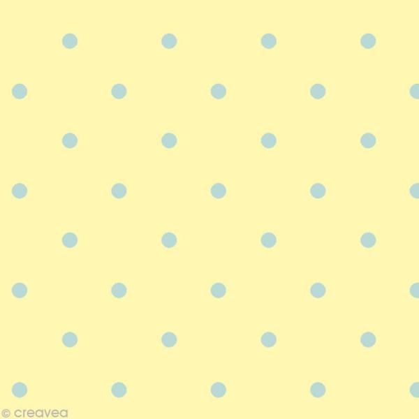 Set Scrapbooking - Cartes Patchwork Family - Fleurs et Petits pois - 5 motifs 20,7 x 14,7 cm - Photo n°3