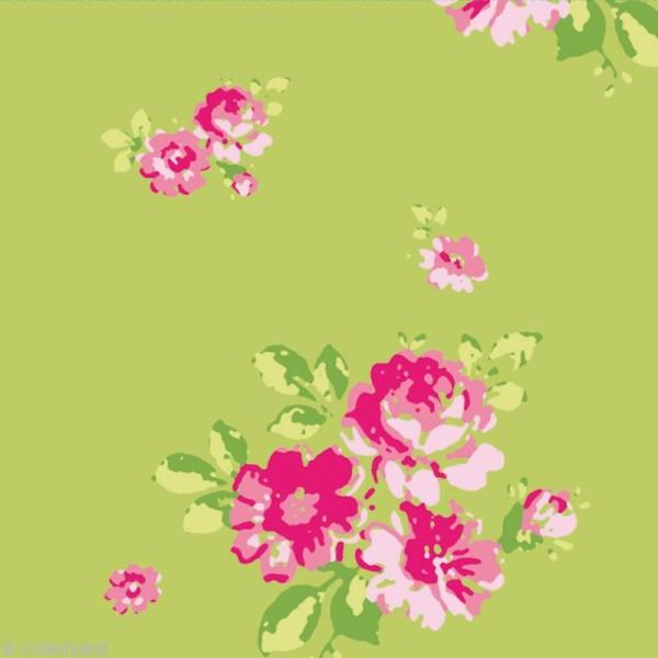 Set Scrapbooking - Cartes Patchwork Family - Fleurs et Petits pois - 5 motifs 20,7 x 14,7 cm - Photo n°4