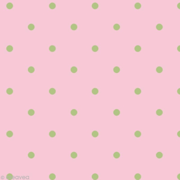 Set Scrapbooking - Cartes Patchwork Family - Fleurs et Petits pois - 5 motifs 20,7 x 14,7 cm - Photo n°5