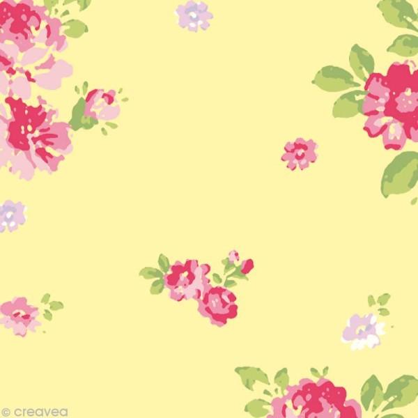 Set Scrapbooking - Cartes Patchwork Family - Fleurs et Petits pois - 5 motifs 20,7 x 14,7 cm - Photo n°6