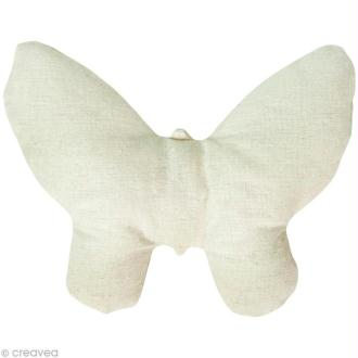 Doudou à personnaliser - Patchwork Family - Papillon 2D