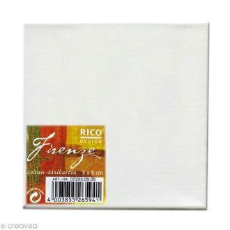 Carton de peinture Lin - 5 x 5 cm