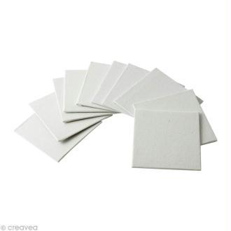 Carton entoilé - Rico Design - 5 x 5 cm - 10 pcs