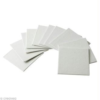 Carton entoilé - Rico Design - 10 x 10 cm - 10 pcs
