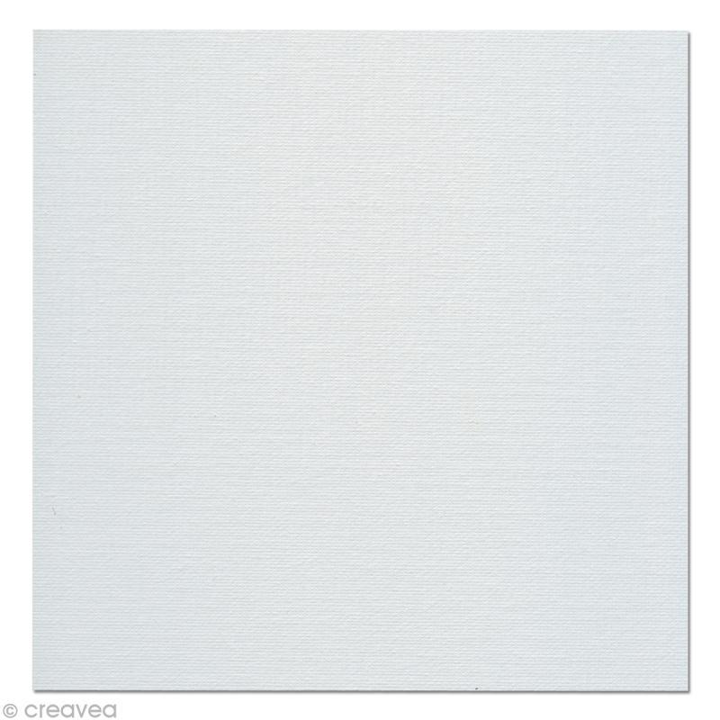 carton de peinture lin 20 x 20 cm carton toil creavea. Black Bedroom Furniture Sets. Home Design Ideas