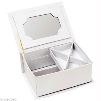 Coffret à bijoux en carton 16 cm