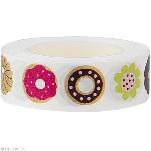 Fun tape Donut 15 mm x 10 m - Photo n°1