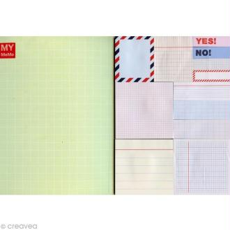 Carnet de notes adhesives fantaisies Sticky notes - Cahier x 480